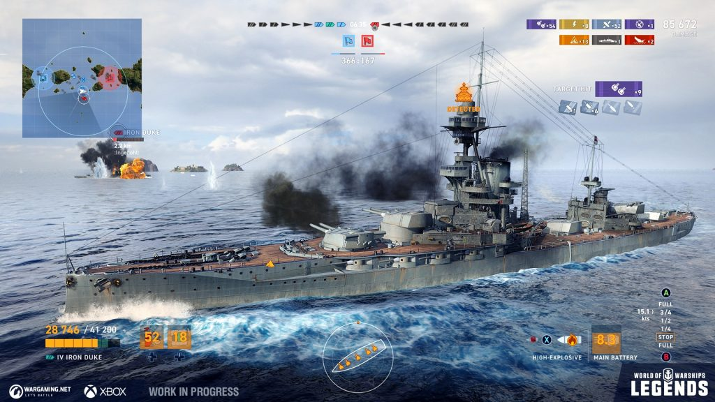 WG WoWSL Screenshots Action XBOX UI 04 1920x1080 1024x576 World of Warships: Legends Early Access na konzolama od 16. aprila!