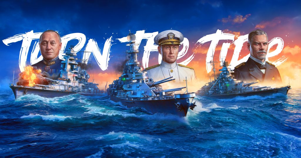 WoWSL Illustration Turn The Tide 5721x3000.psb  1024x537 World of Warships: Legends Early Access na konzolama od 16. aprila!