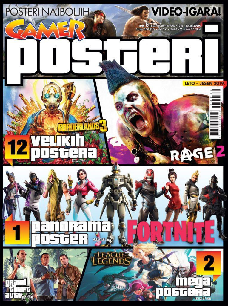 Gamer POSTERI 06 NASLOVNA 764x1024 U prodaji je novi broj Gamer Postera!