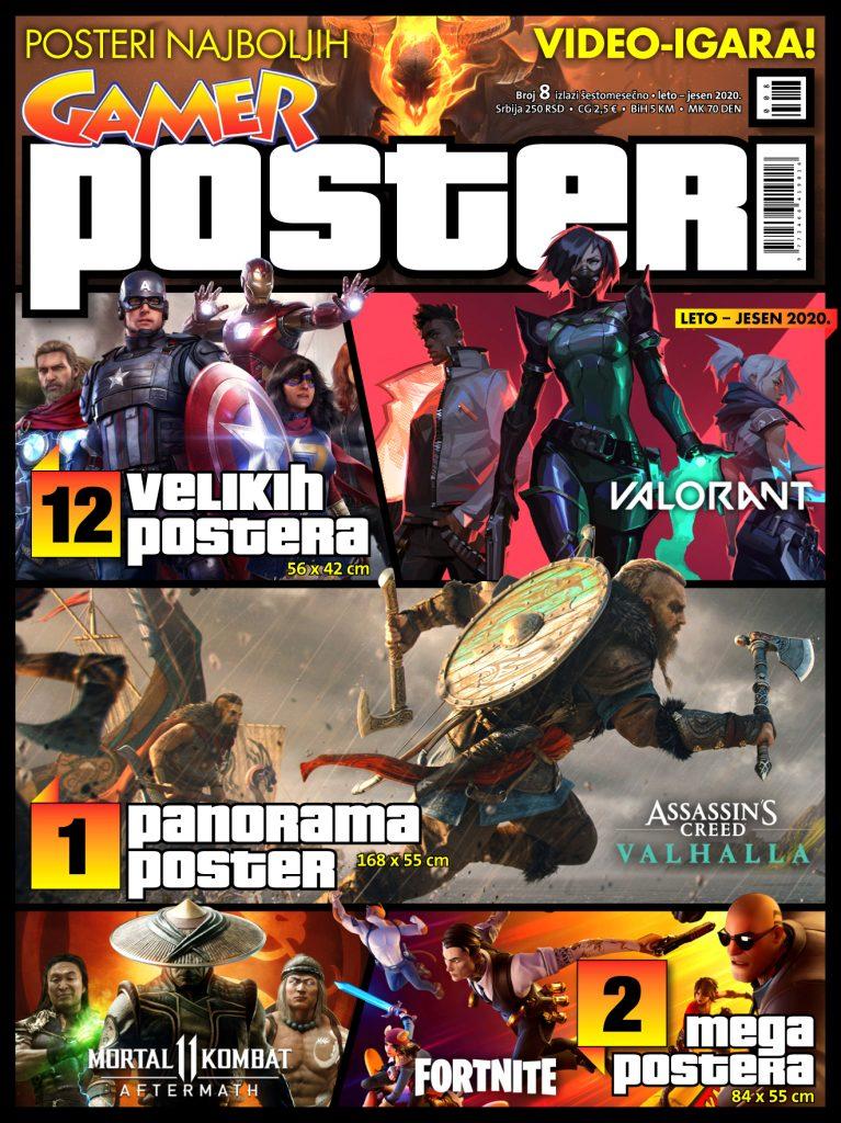 Gamer POSTERI 08 NASLOVNA 2 767x1024 Gamer Posteri #8   U prodaji je novi broj!